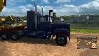 getlinkyoutube.com-ETS2 Mack Superliner E9 V8 -Part 1-