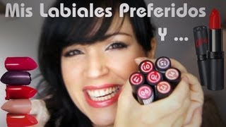 getlinkyoutube.com-Labiales Preferidos y Aceites Naturales - Haul Rimmel Kate Moss Lipsticks