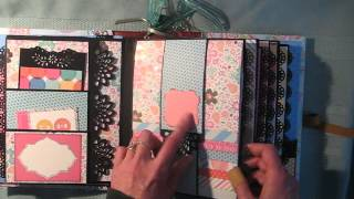 getlinkyoutube.com-Waterfall Scrapbook Mini Album (Tutorial available)