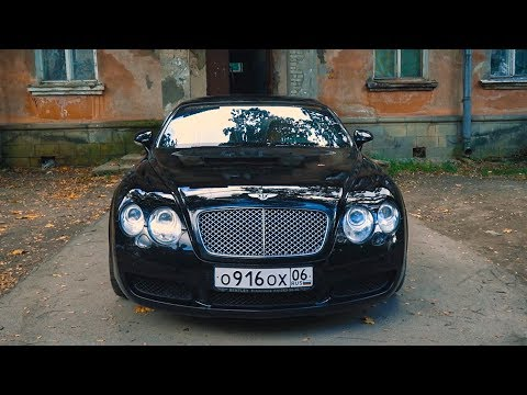 Японский мотор в Bentley Continental GT.