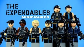 getlinkyoutube.com-LEGO S.W.A.T. The Expendables KnockOff Minifigures Call of Duty Set 3