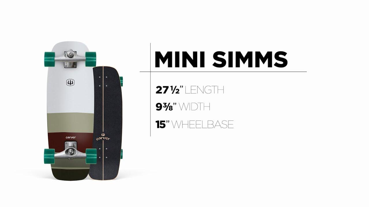 27.5″ Mini Simms