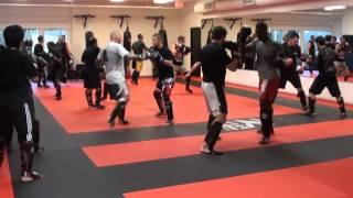 getlinkyoutube.com-kickboxing training with Bas Rutten.