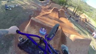 getlinkyoutube.com-BMX GoPro Session on Huge Dirt Jumps - Red Bull Dreamline 2014