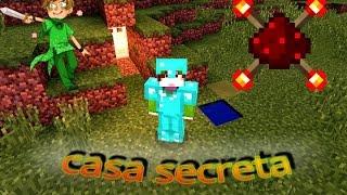 getlinkyoutube.com-Como hacer una casa secreta con redstone en Minecraft pe 0.13.0