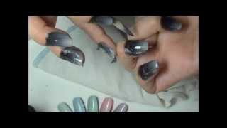 getlinkyoutube.com-Como fazer Unhas Gradiente (Gradient Nails)