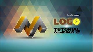 getlinkyoutube.com-(AVANZADO) TUTORIAL 23 Corel DRAW X7: LOGO 3D PROFESIONAL