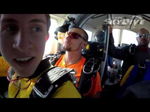 Josh Sirota's Tandem skydive!