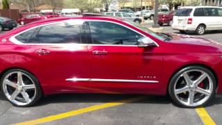 getlinkyoutube.com-Chevy impala 2015 22's IROCS rims