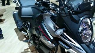 getlinkyoutube.com-NEW 2017 V STROM 650 AND 1000XT