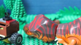getlinkyoutube.com-lego t rex hunter