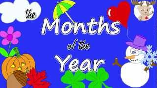 getlinkyoutube.com-The Months of the Year Song