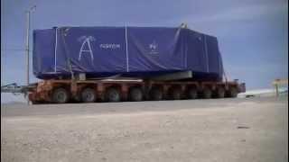 traslado carga especial a COLLAHUASI(TAMARUGAL) 1