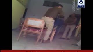 getlinkyoutube.com-SHOCKING video of police giving third degree torture to theft accused in Saifai