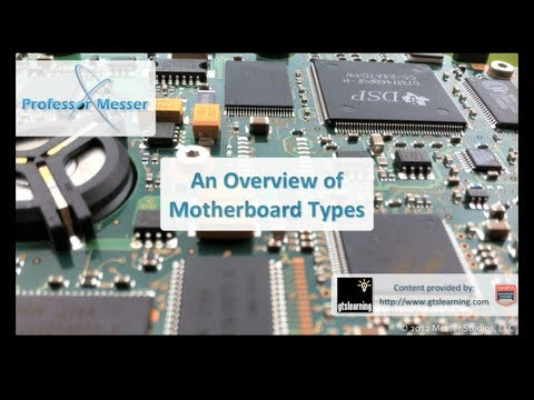 An Overview of Motherboard Types - CompTIA A+ 220-801: 1.2