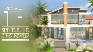 getlinkyoutube.com-The Sims 4 - Speed Build - Sunshine Villa