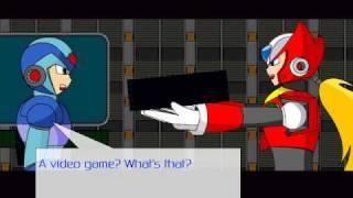 getlinkyoutube.com-Mega Man X: Rush to Battle Game Sample - PC/Doujin