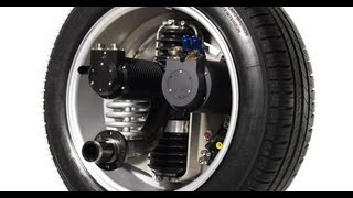 getlinkyoutube.com-Michelin Active Wheel: Tire which Electric Motor and Suspension