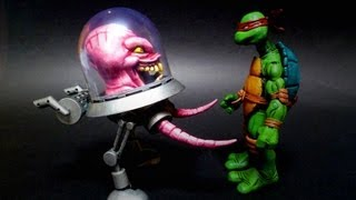 getlinkyoutube.com-Teenage Mutant Ninja Turtles KRANG NECA Style Custom Action Figure