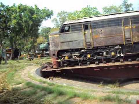 Toy train journey at Indian Railway Museum