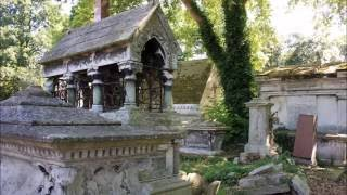 getlinkyoutube.com-Kensal Green Cemetery, London. Famous victorians and Royals.