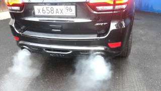 Звук Выпускной системы BORLA для JEEP Grand Cherokee SRT-8 Rear Section Exhaust ATAK™