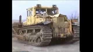 getlinkyoutube.com-Soviet Union strong bulldozer DET-250M