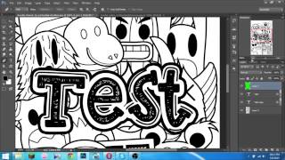 getlinkyoutube.com-Cara Membuat Doodle Art Di PhotoShop