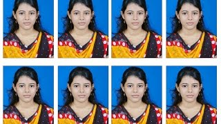 getlinkyoutube.com-Create Photoshop shortkut action for passport size photo in 6x4 maxi size