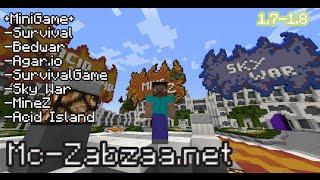 getlinkyoutube.com-Minecraft เซิฟ ZapZaa : มินิเกมส์มากมีมายซีก็มาเซิฟดีที่คุณต้องลอง [1.7.2-1.8] - Rivth28