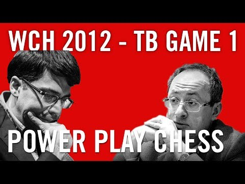 Boris Gelfand - Viswanathan Anand World Chess Championship 2012 Tie-break Game 1 by Daniel King