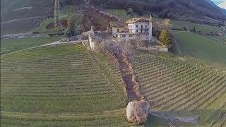 getlinkyoutube.com-Italian landslide: Huge boulders destroy buildings in South Tyrol
