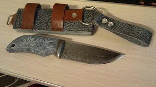 getlinkyoutube.com-Р6М5 быстрорез. Новый нож, ножны, слайдшоу, видео будет далее