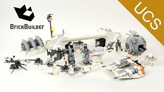 getlinkyoutube.com-Lego Ultimate Collector Series 75098 Assault on Hoth - Lego Speed Build