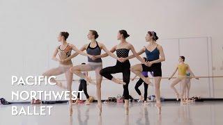 getlinkyoutube.com-Swan Lake - Pas de Quatre (Dance of the Cygnets Act 2) rehearsal
