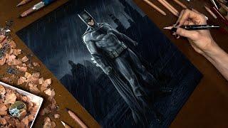 getlinkyoutube.com-Drawing Batman