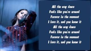 getlinkyoutube.com-Selena Gomez - Cologne Karaoke / Instrumental with lyrics on screen