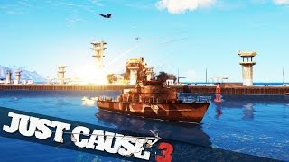 getlinkyoutube.com-EPIC JUST CAUSE 3 BATTLE MADNESS  :: Just Cause 3 PC Gameplay