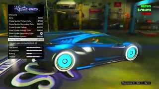 getlinkyoutube.com-GTA 5 Online: SECRET Car Colors - TRON, Secret Gold,Galaxy & More! BEST Paint Jobs (GTA V)