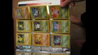 sell binder: cards from base set 1, 2, jungle, fossil, team rocket, other