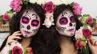 ♡ CATRINA ✧ DIAMOND SUGAR SKULL ✧ Make Up Tutorial | Melissa Samways