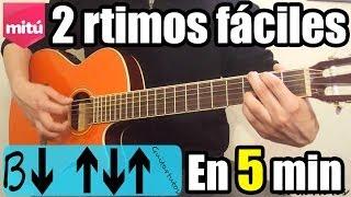 Como tocar pop, balada rock, balada rítmica en guitarra (Fácil, sin cejilla)
