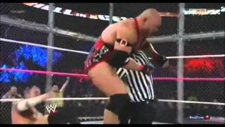 Wwe Cm Punk Vs Ryback   Hell In a Cell 2012