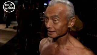 The 74-year-old bodybuilder: Japan's slickest septuagenarian