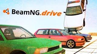 getlinkyoutube.com-BeamNG.drive ,Crash Test,Fails,Stunts,Drifting & Crashes Compilation