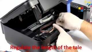 getlinkyoutube.com-Video manuals of TM ColorWay CISS Canon MP230