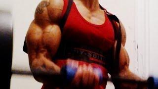 getlinkyoutube.com-Secret To Bigger Arms - How To Build Big Biceps Fast (Big Brandon Carter)