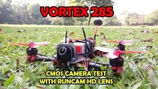 getlinkyoutube.com-Vortex 285 - CMOS Camera with RunCam HD Lens