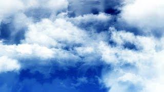 Flight Through Dark Blue Sky - Free HD Footage