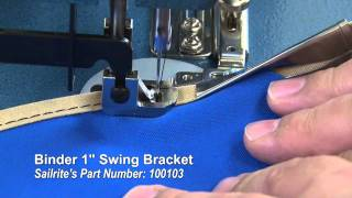 getlinkyoutube.com-How to Work Binding Around Curves or Corners - Using a Binder Attachment on Sewing Machine